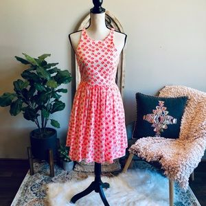 J Crew Floral Fit & Flare Dress💋 Brand new!